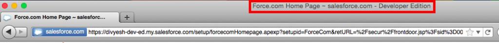 Safari Developer Edition