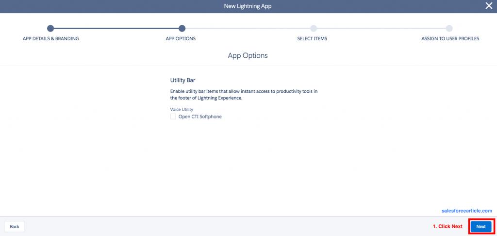 App Option